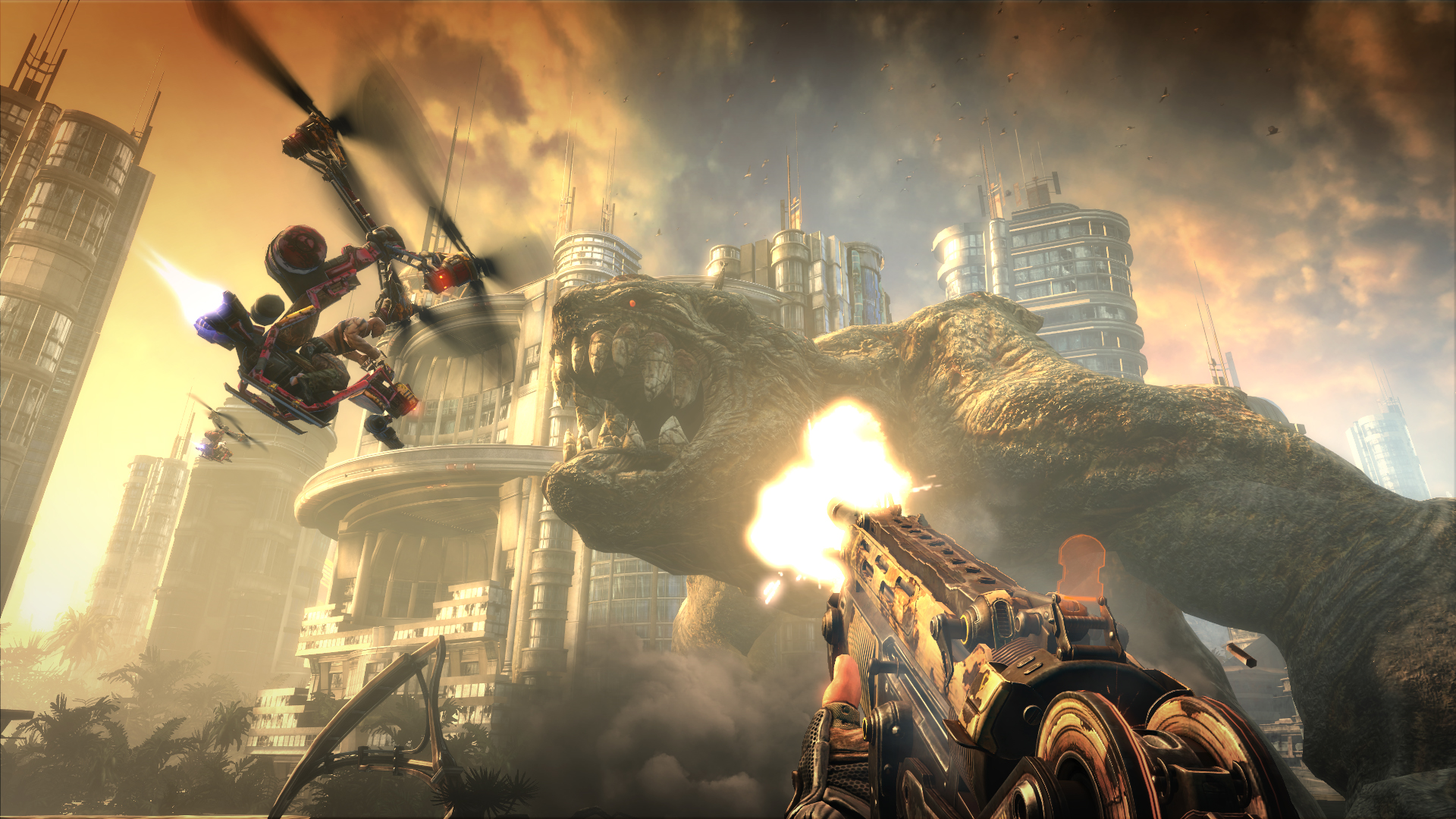 """Bleszinski: 'Bulletstorm' marketing a mistake, sold as """"the dicktits game"""""""
