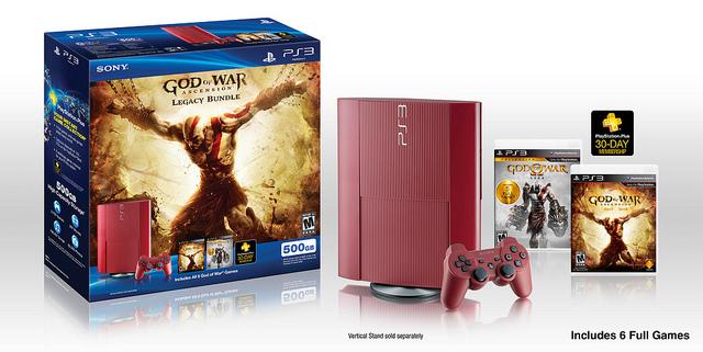 Red 'God of War: Ascension' Legacy PlayStation 3 bundle unveiled
