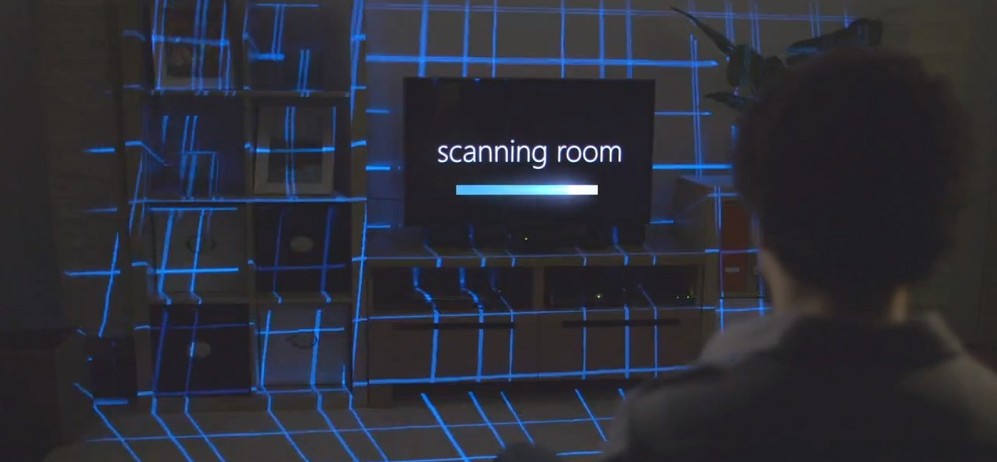 Microsoft reveals 'Xbox IllumiRoom' concept video