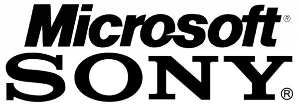 Microsoft-Sony-Logos
