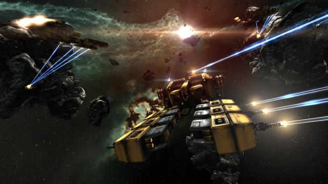 'EVE Online' sees massive, 2800-man battle, screenshots released