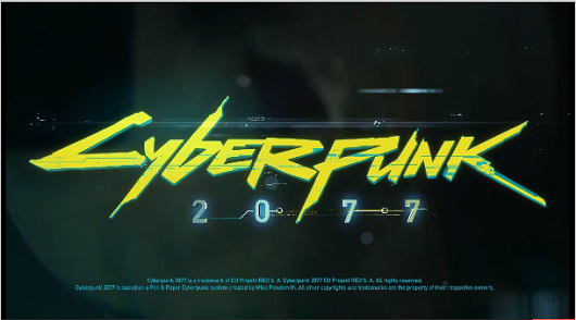 'Cyberpunk 2077' trailer will be shown to our eyeholes next week