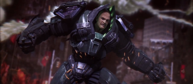 Lex Luthor revealed in latest 'Injustice: Gods Among Us' trailer