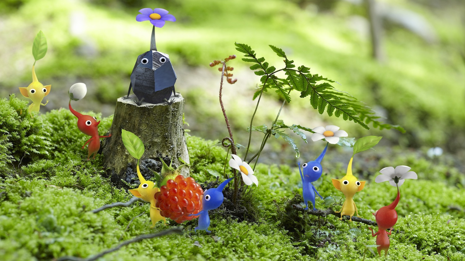 'Pikmin 3' to be more like the original game, not its sequel