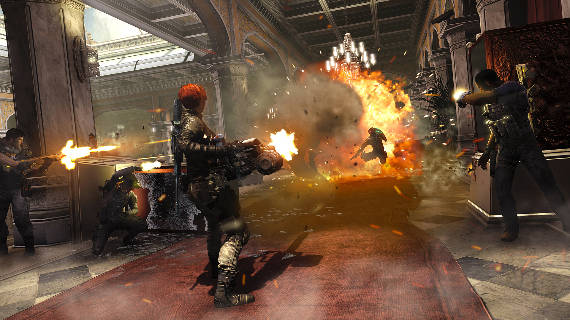 Fuse Screenshots Showcase Hectic Environments Xbox 360 Power Supply