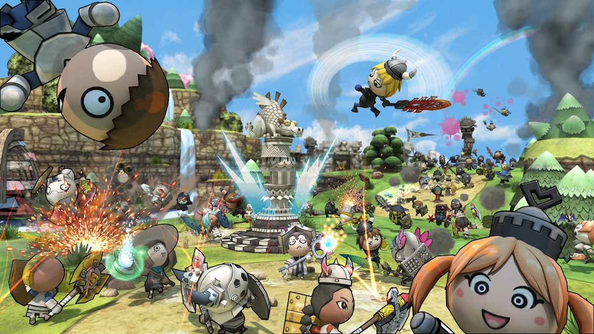 Xbox 360's free-to-play title 'Happy Wars' approaching two million players