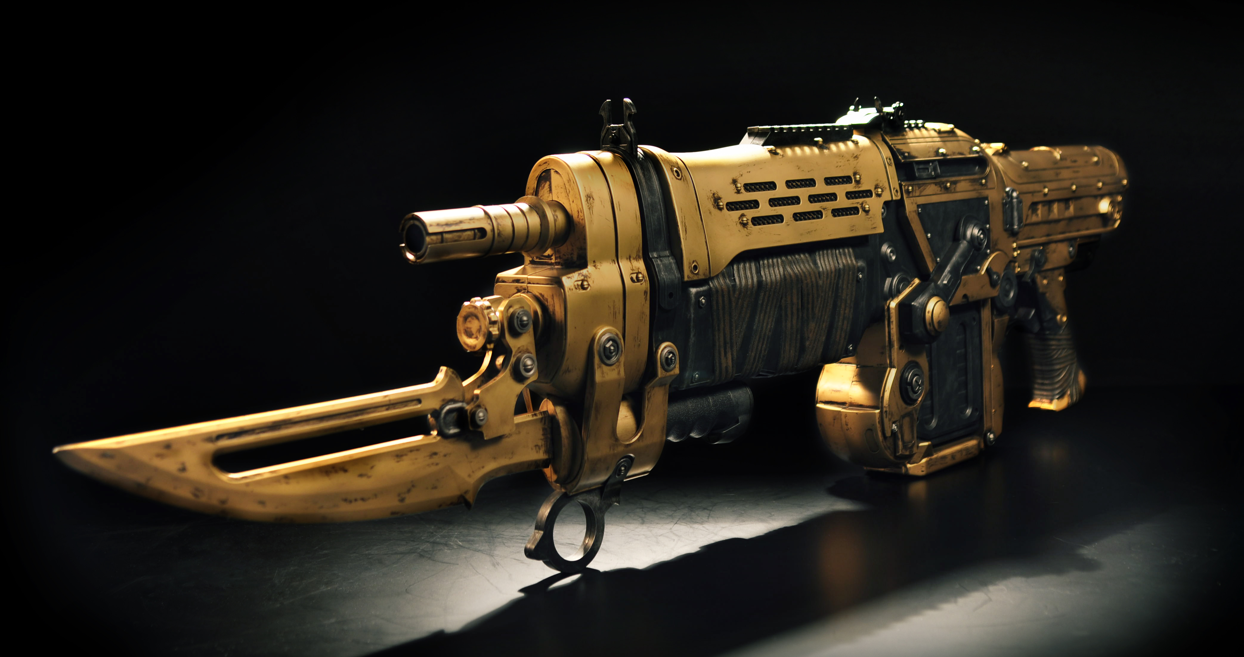 Gold Lancer to be given to one lucky 'Gears of War' fan