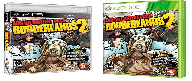 'Borderlands 2' retail add-on pack includes Scarlett, Torgue DLC, more