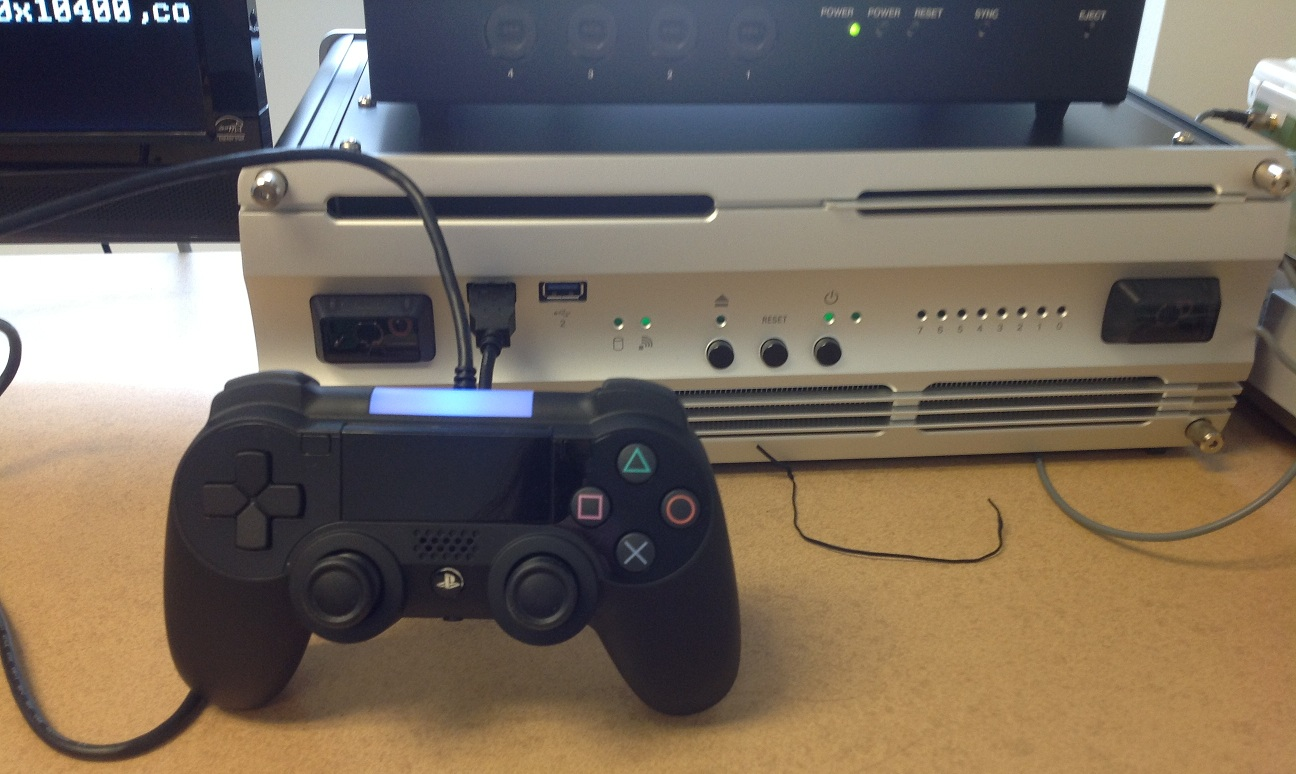 Possible PlayStation 4 prototype controller outed