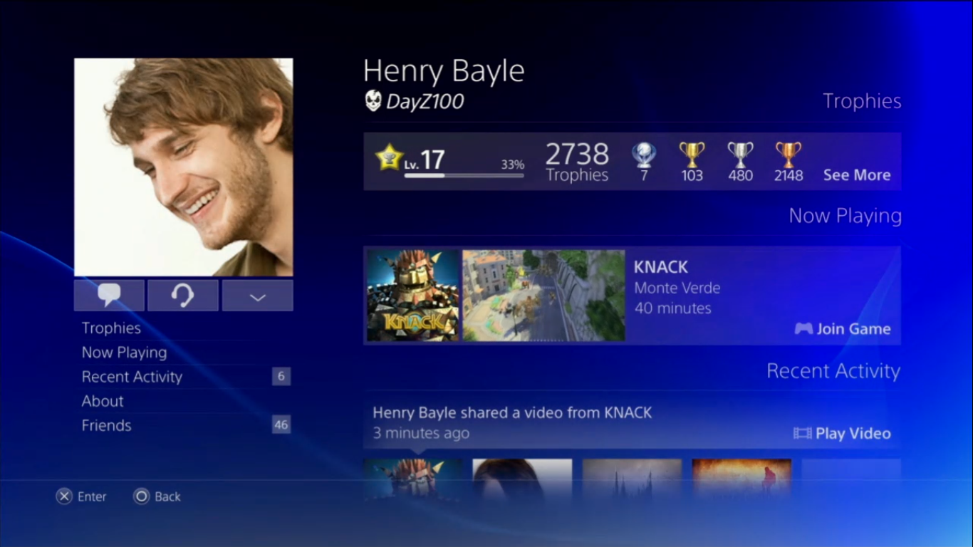PlayStation 4 will feature cross-game chat