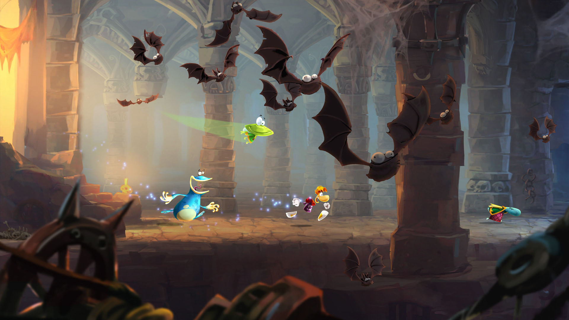 Exclusive 'Rayman Legends' demo coming to the Wii U