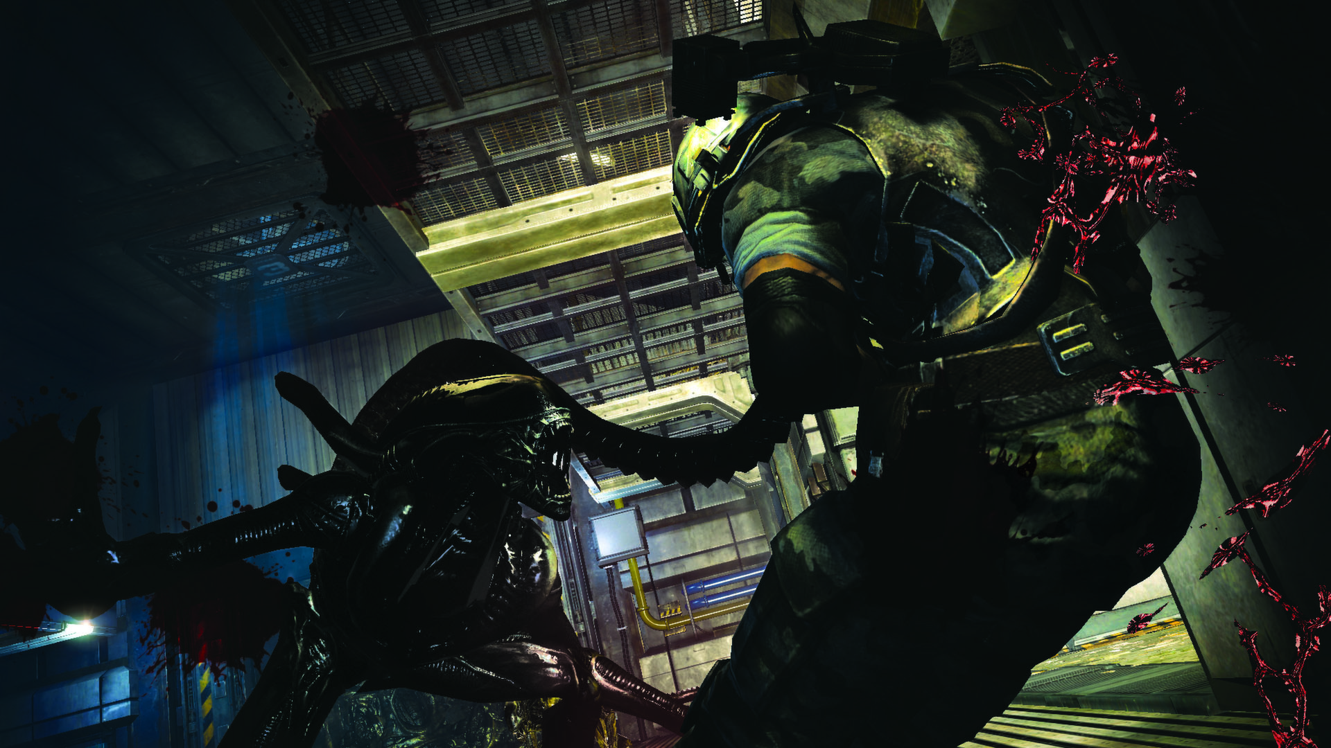 'Aliens: Colonial Marines' sees quick update