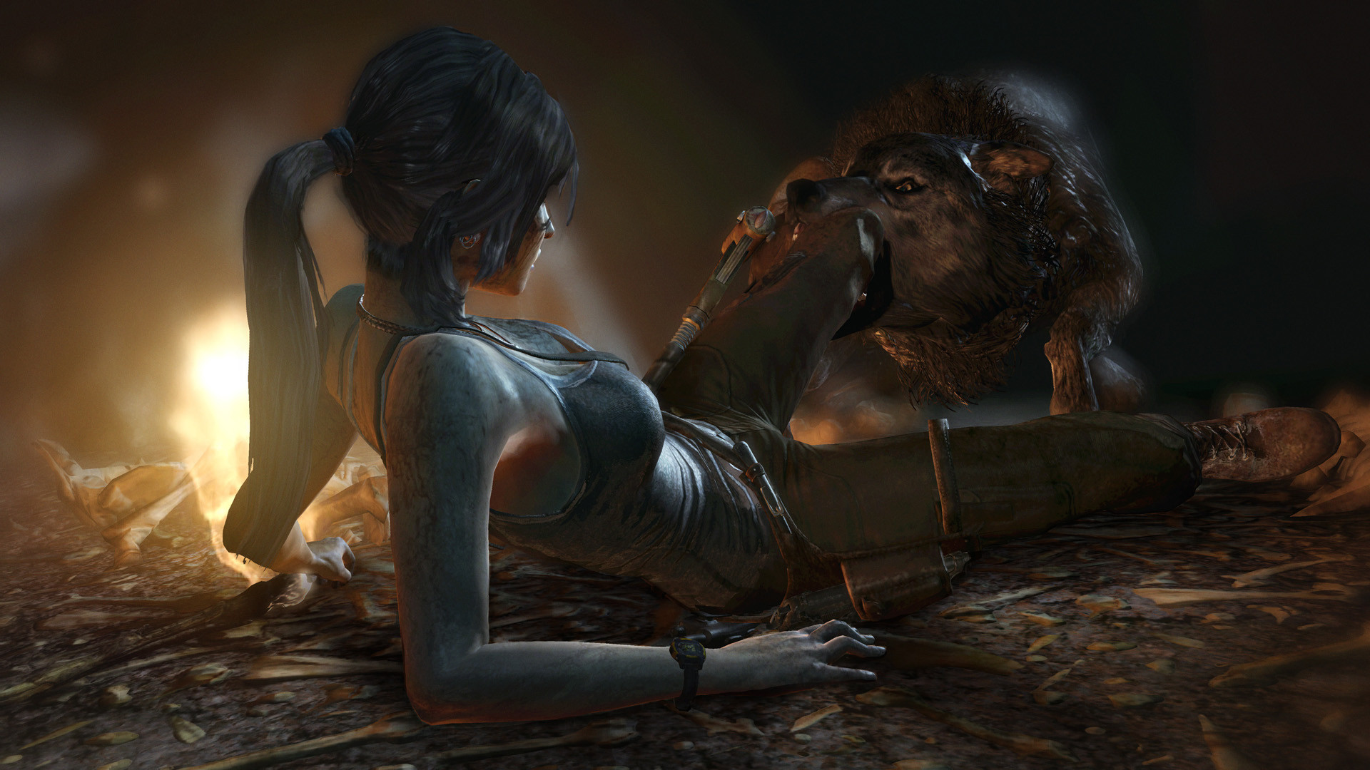 'Tomb Raider' gameplay: Monastery Escape