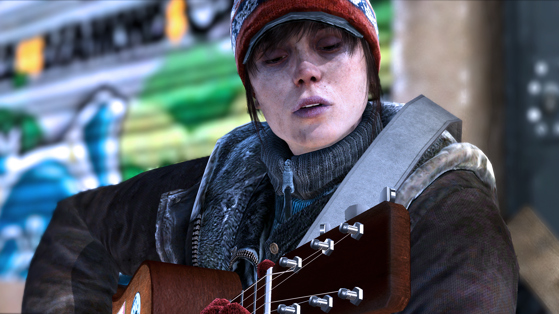 Over 8 minutes of 'Beyond: Two Souls' gameplay footage released