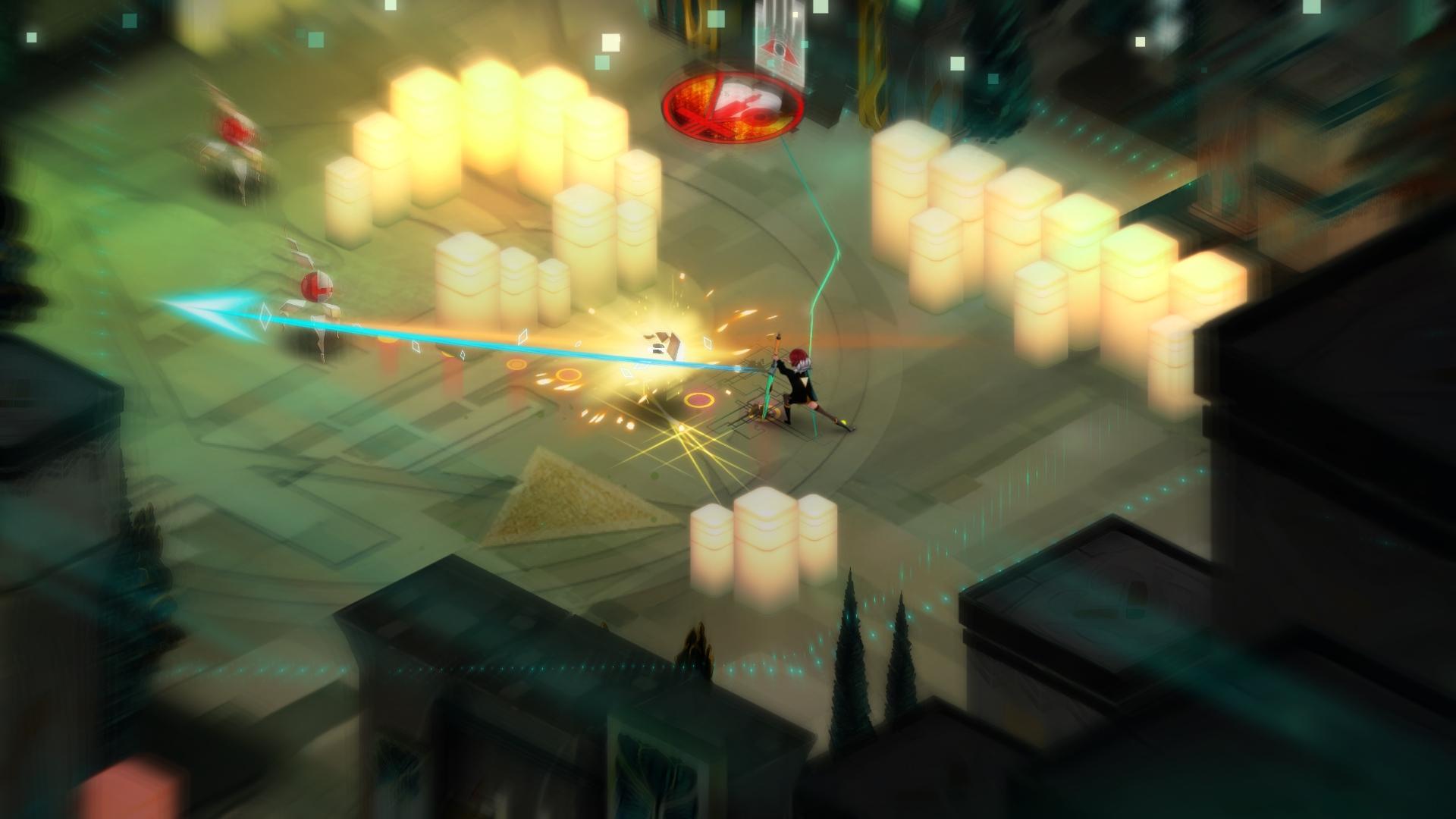 Supergiant Games reveals 'Transistor'