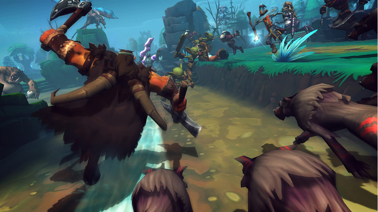 'Dungeon Defenders II' announced – free-to-play