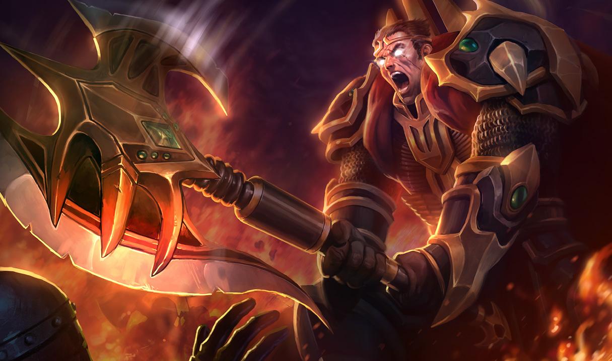 New 'League of Legends' skin sale – Darius, Rammus, and Nautilus