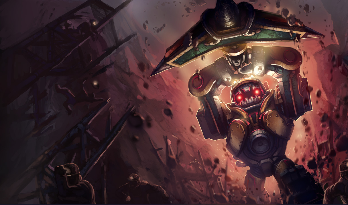 league of legends subterannian nautilus