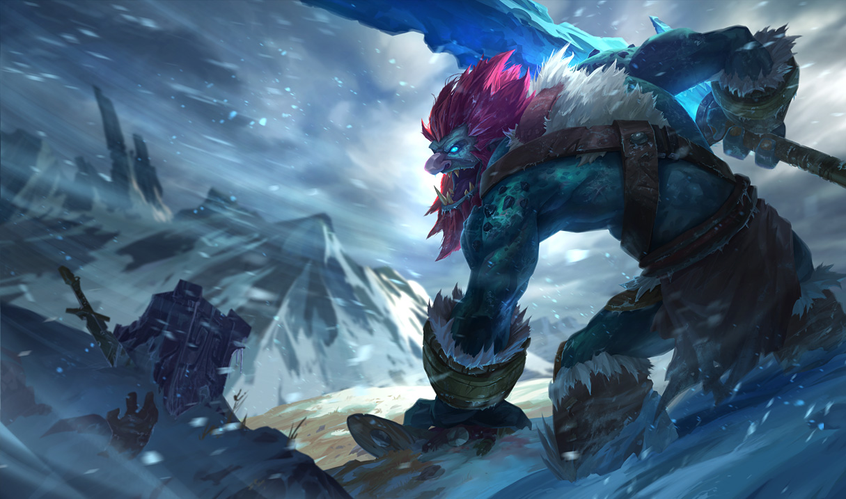 'League of Legends' 03/26 PBE update – new Trundle splash art