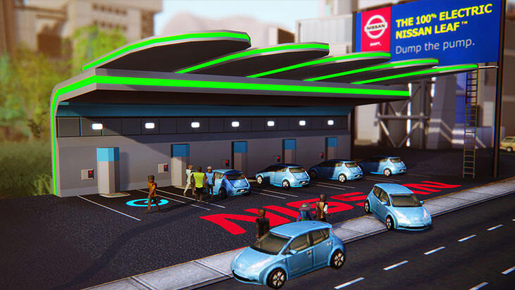 First 'SimCity' DLC from Maxis is Nissan advertisement