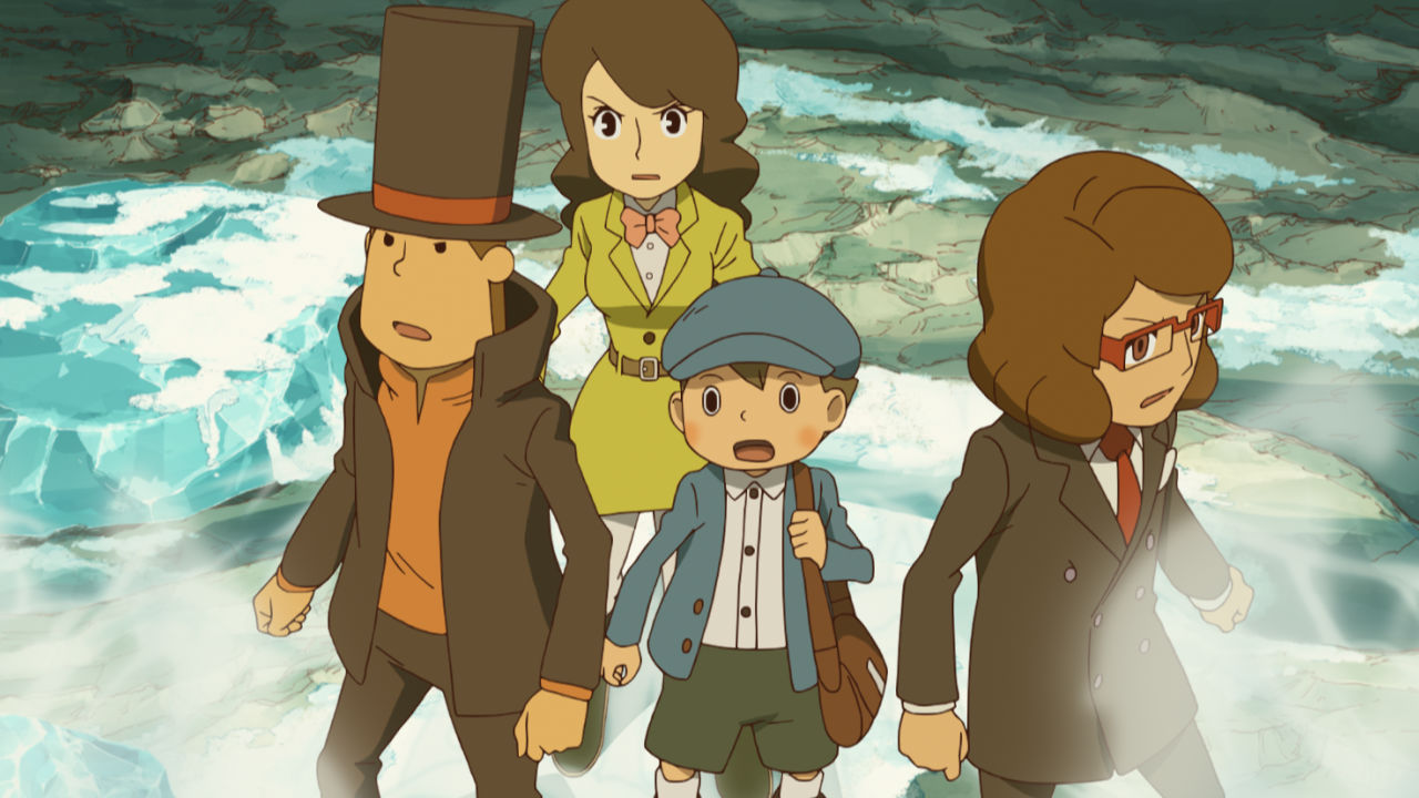 Professor Layton and the Azran Legacies - 12