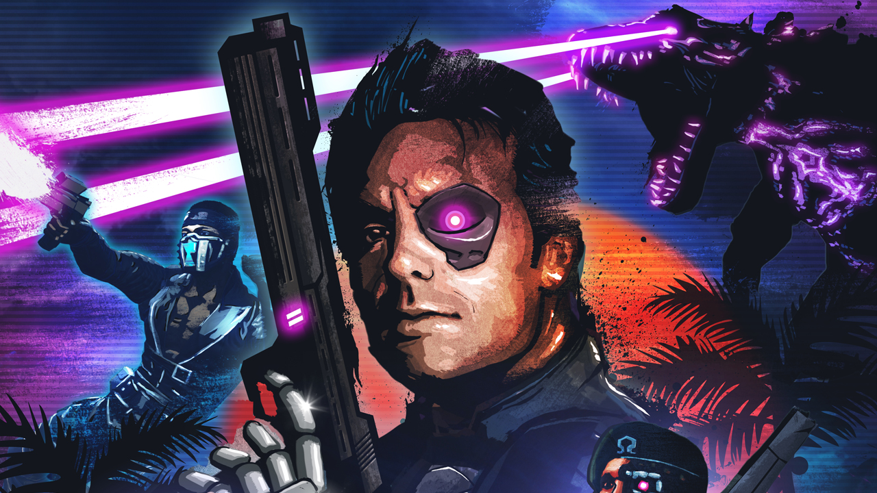 'Far Cry 3: Blood Dragon' walkthrough video is appropriately bonkers
