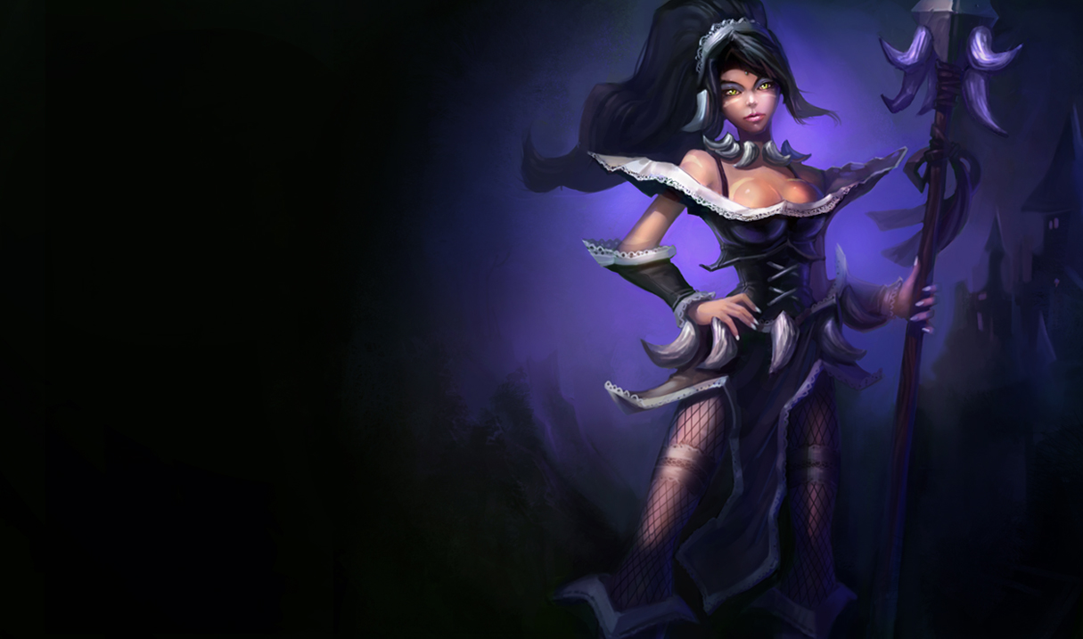 league of legends french maid nidalee