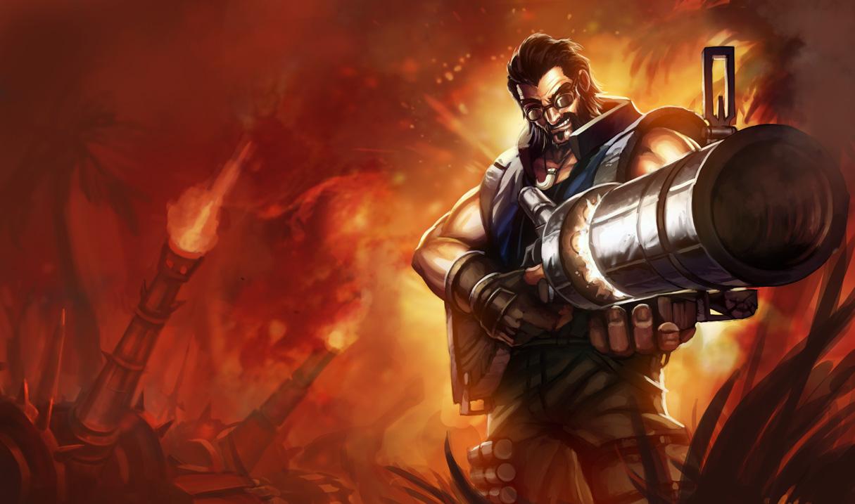 league of legends graves hired gun