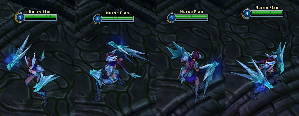 league of legends ice drake shyvana in game