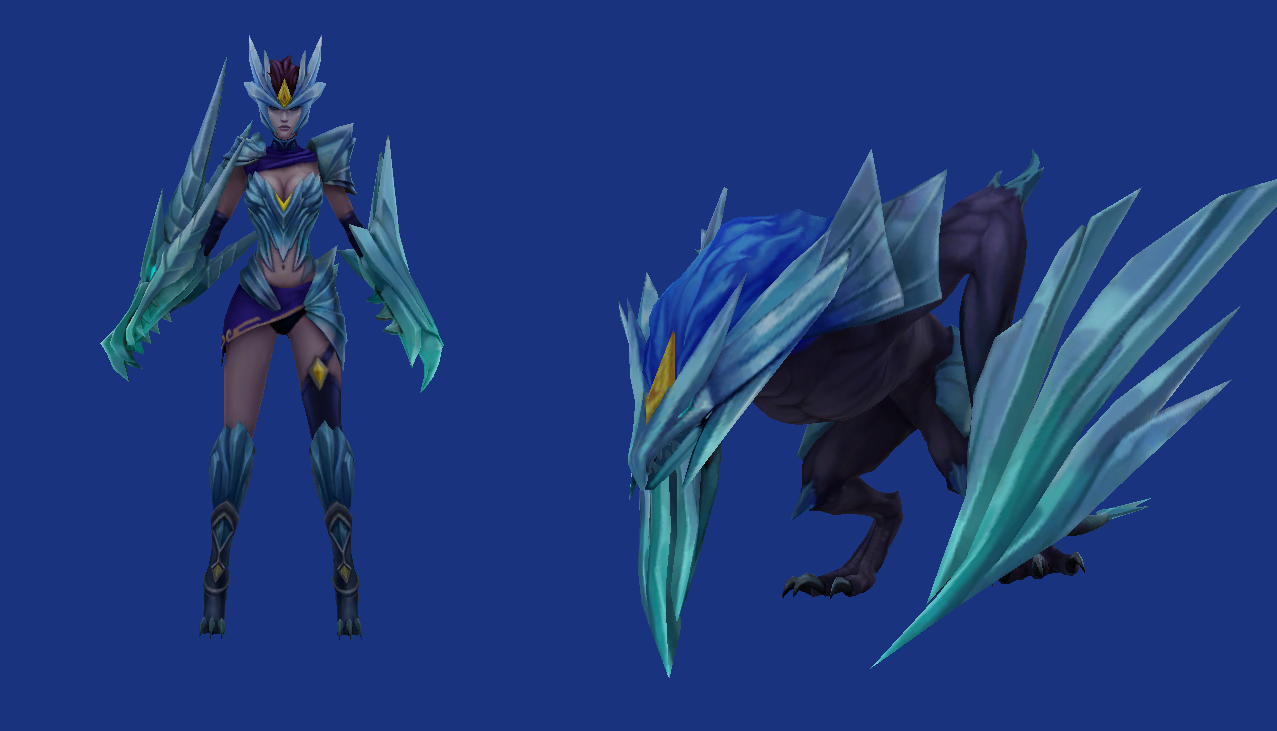 league of legends ice drake shyvana