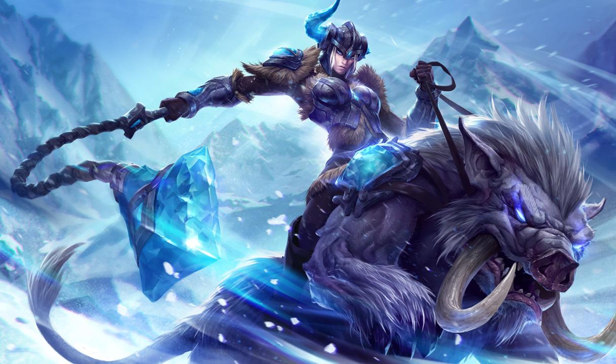 league of legends new sejuani splash art
