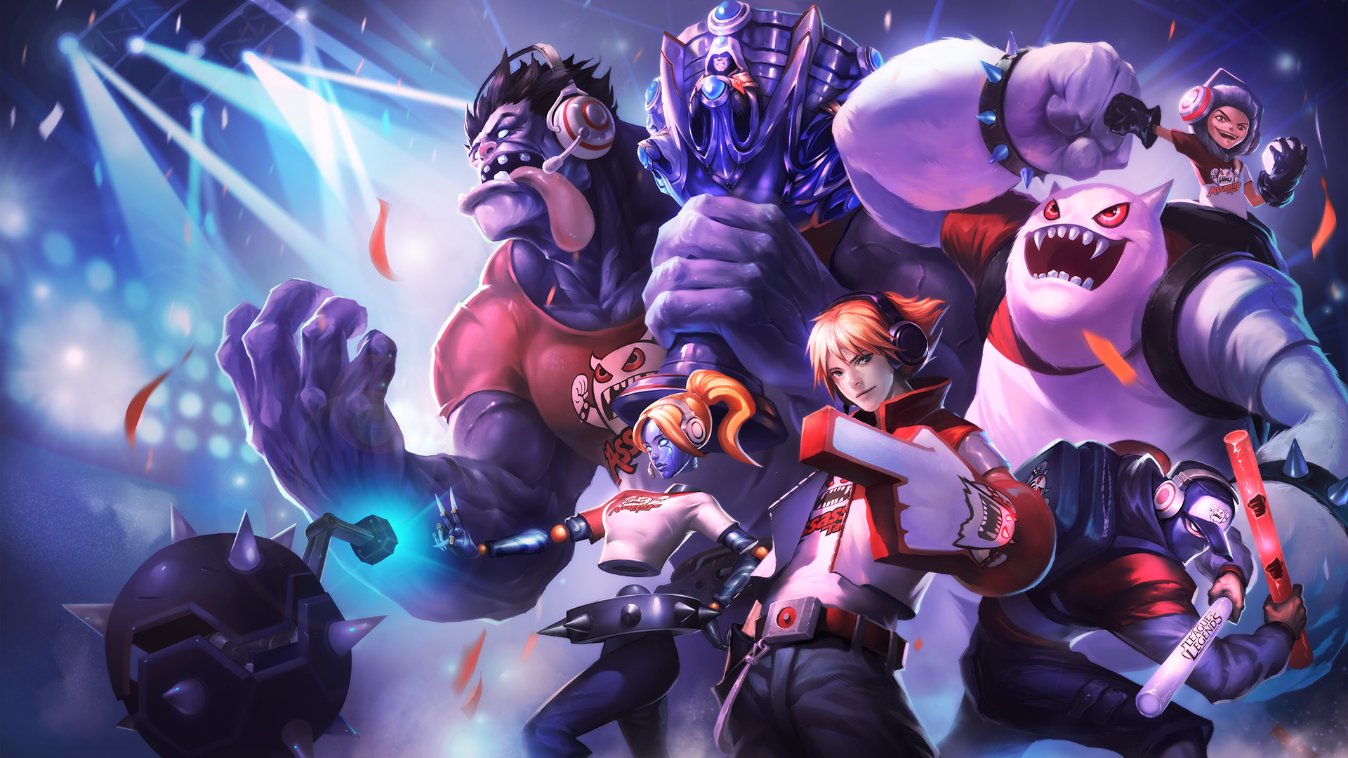 league of legends taipai assasins skins