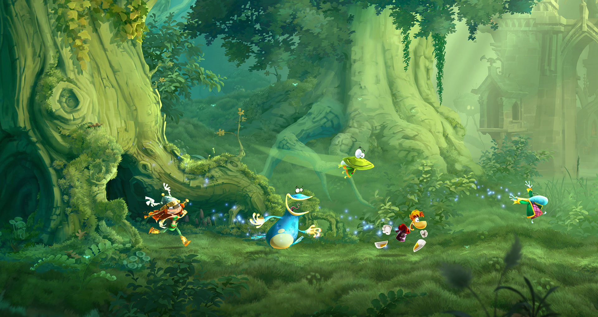 'Rayman Legends' hits Sept. 3 in North America, Aug. 30 in Europe