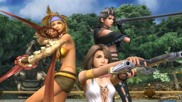 Here are the first screenshots of 'Final Fantasy X-2 HD'