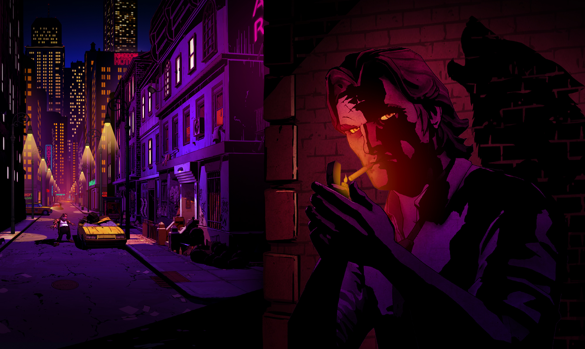 First screens of Telltale's 'The Wolf Among Us'