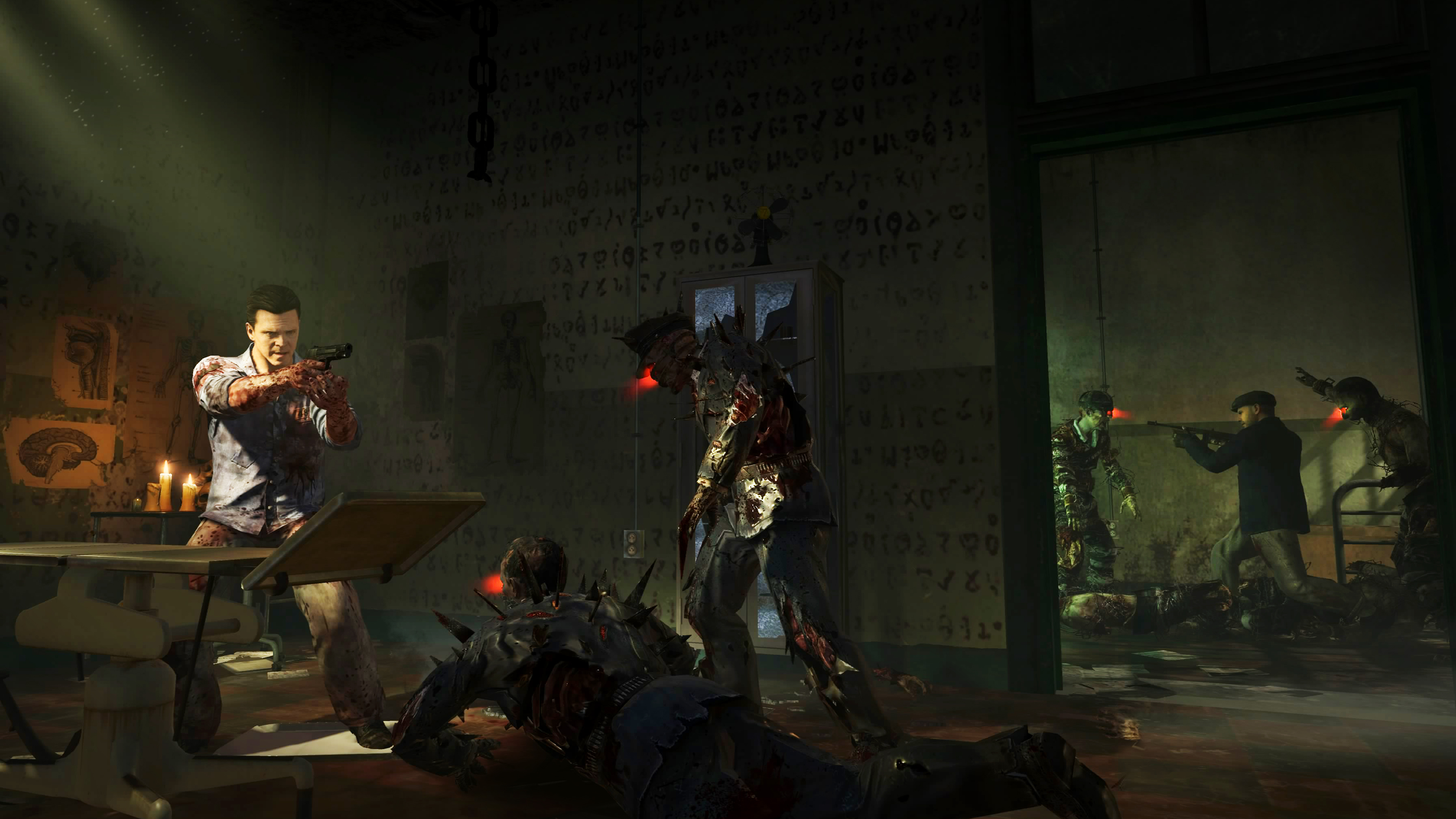 black ops II uprising mob of the dead