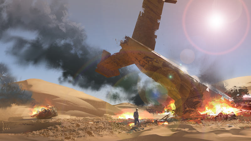 Before the game comes concept art – Robh Ruppel: 'Uncharted 3'