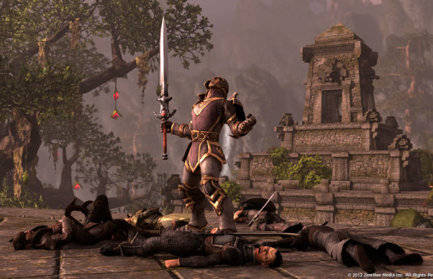 'Elder Scrolls Online' video talks gathering and exploration