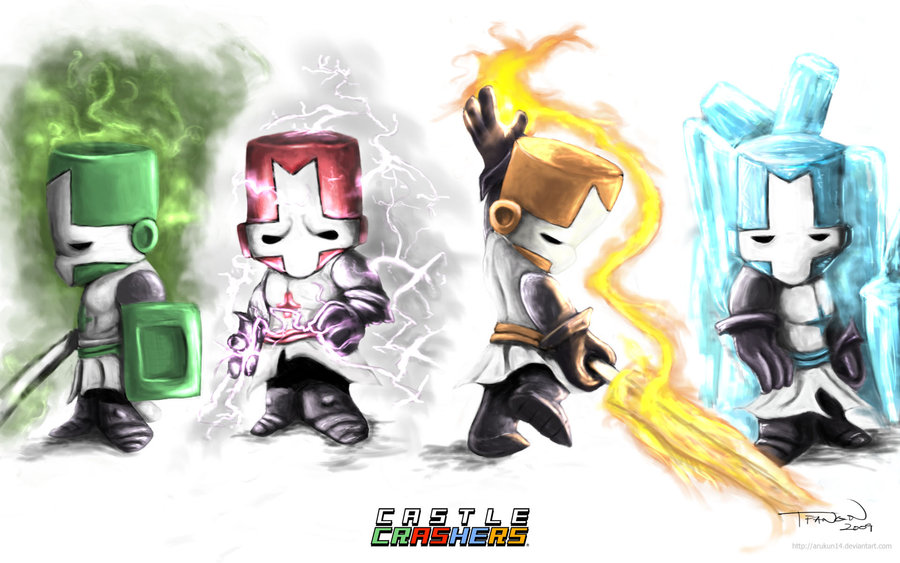 The Castle Crashers Knights