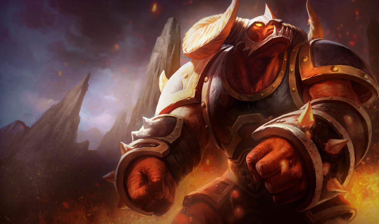 league of legends infernal alistar