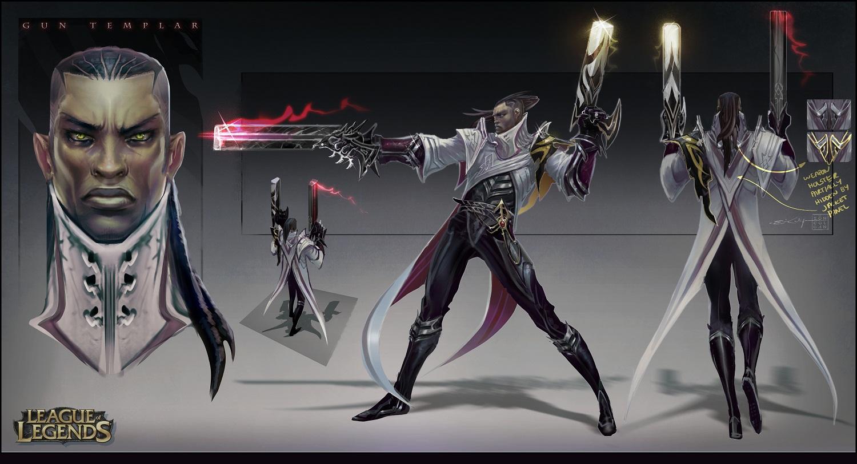 league of legends lucien the gun templar