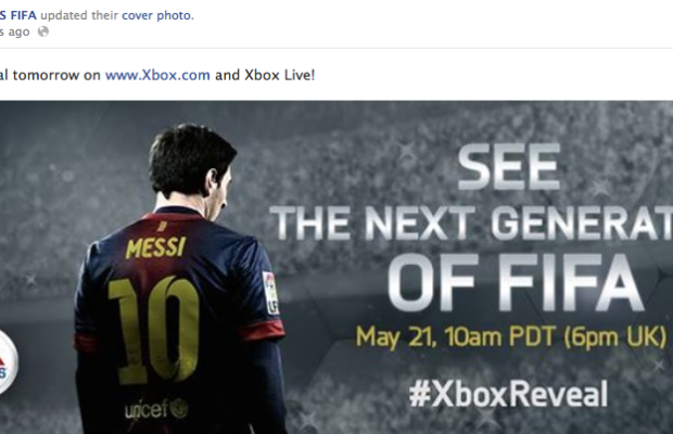 Next-gen 'FIFA' will be shown at Xbox Reveal event
