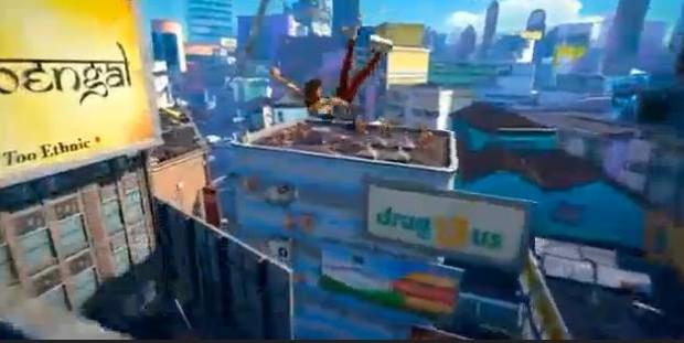E3: Insomniac unveils 'Sunset Overdrive'