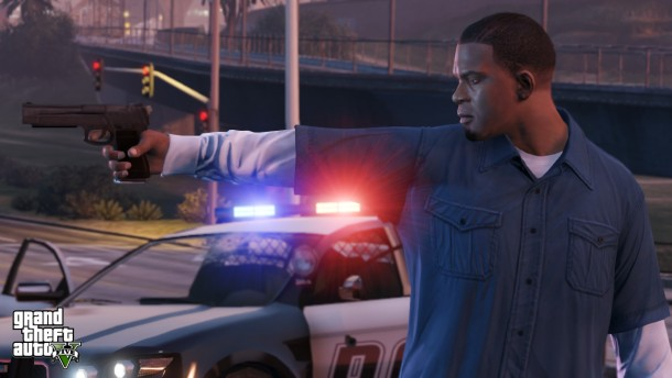 New 'GTA V' screens show off yet more open-world action