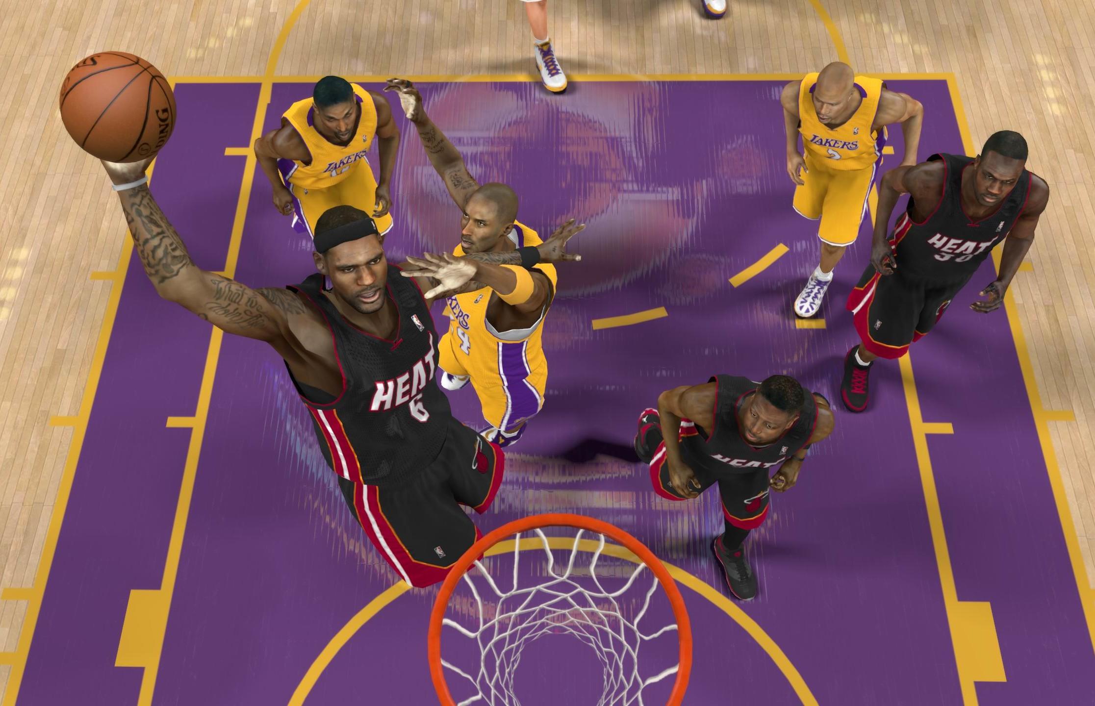 Lebron NBA 2K13