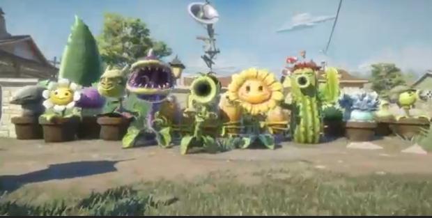 E3: 'Plants vs Zombies: Garden Warfare' announced, Xbox One & 360 exclusive