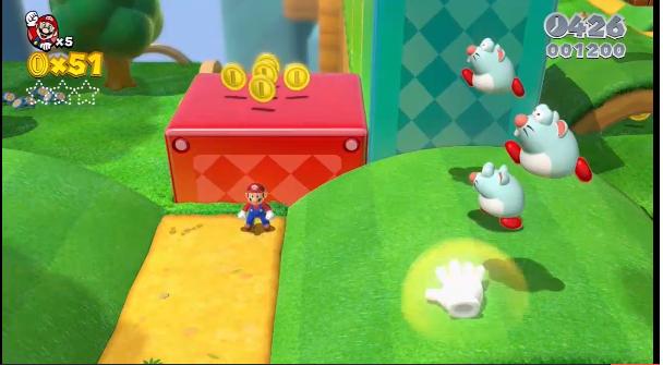 E3: 'Super Mario 3D World' announced for Wii U for December