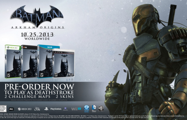 'Batman: Arkham Origins' Deathstroke DLC not available on Wii U