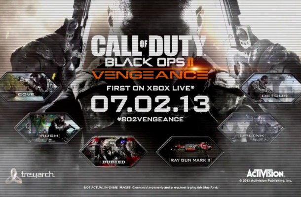 'Black Ops II' Vengeance DLC trailer, coming July 2