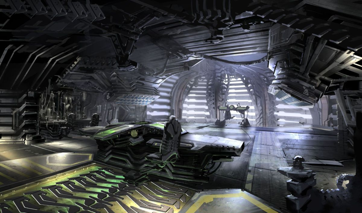 concept art ryan church dead space bridge